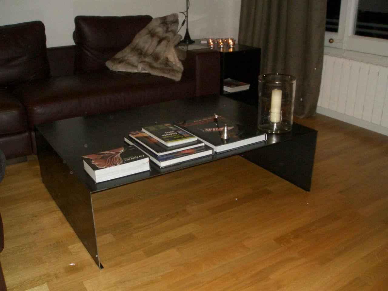 Mesa chapa unic muebles de hierro lat n zinc inox for Muebles de chapa