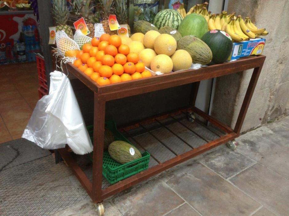 Carrito-fruta