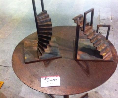 Escultura Escalera