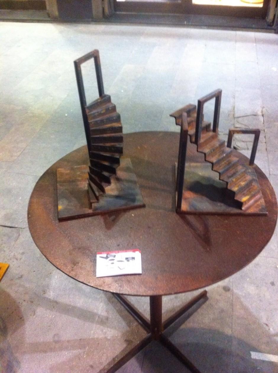 escultura escalera-1