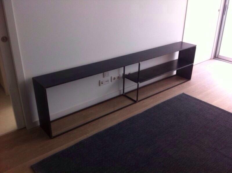 Mueble recibidor hierro 20170823124959 - Decoracion mueble tv ...