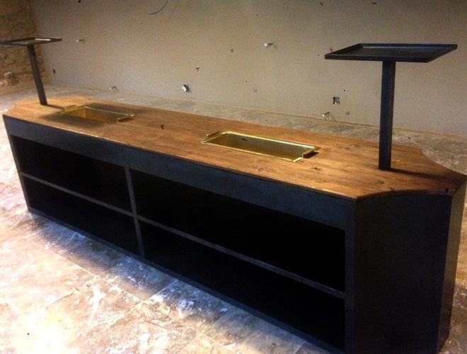 Mueble bar mediterraneo muebles de hierro lat n zinc - Tu mueble barcelona ...