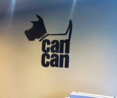 Tienda Can Can. Decoración metálica