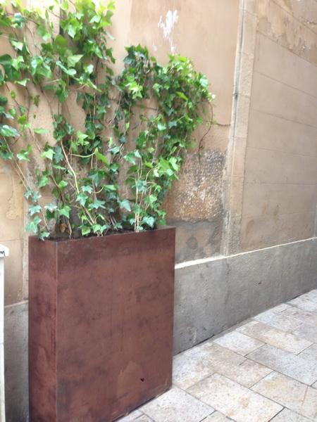 Jardineras de hierro hechas a medida muebles de hierro - Jardineras a medida ...
