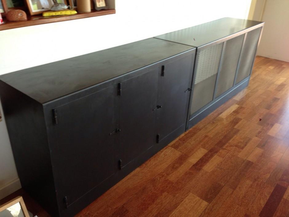 Mueble paris muebles de hierro lat n zinc inox for Muebles paris